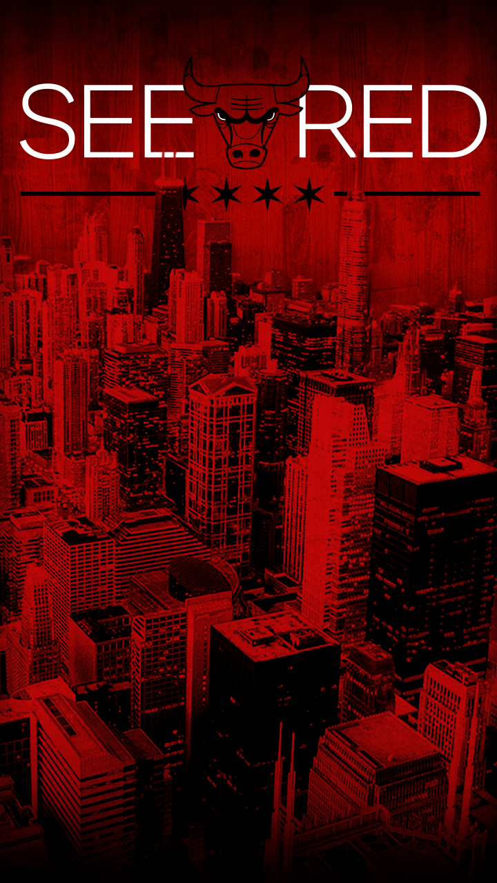 see red chicago bulls playoffs